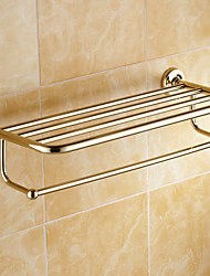Bathroom Shelf / Polished Brass / Wall Mounted /60*15*10 /Brass /Antique /60 15 1.241