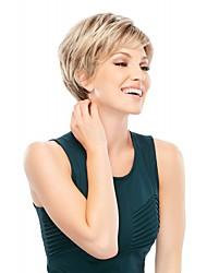 blond perruques couleur de cosplay résistants à la chaleur Vente synthétique en gros à court bouclés cosplay parti perruque