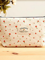 Large Capacity Pastoral Style Small Floral Storage Bag