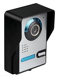 preço de venda de 10 polegadas de vídeo HD de intercomunicação campainha de um segundo cabo