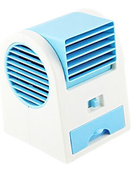 Creative Usb Battery Dual Purpose Air Conditioning Fan Student Hostel Mini Fan Fan Without Blades