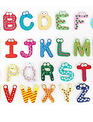 26 English Letters Fridge Magnets