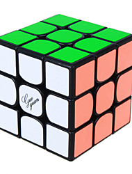 Yongjun® Smooth Speed Cube 3*3*3 Speed / Professional Level Magic Cube Rainbow / Black / White ABS