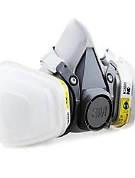 3m-6200 6002 activé poussière de carbone des masques à gaz anti-acide
