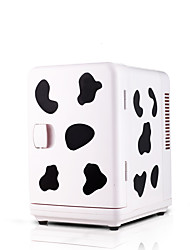 6L Mini Refrigerator Car Home Dual-Use  Pink