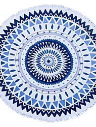 Drap de plage Bleu Haute qualité 100% Coton Serviette