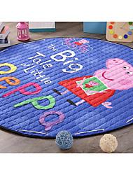 i tappetini tipo cerchio cartone animato cotone trapuntatura contenenti maiale Paige strisciando pad stoccaggio giocattolo