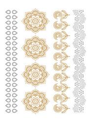 1 Tattoo Aufkleber Blumen Serie Non Toxic / Waterproof / Metallic / HochzeitDamen / Herren / Erwachsener / Teen Flash-TattooTemporary