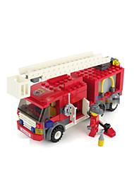 Building Blocks For Gift  Building Blocks Model & Building Toy Car ABS 5 to 7 Years Red / White Toys