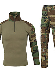 Women's / Men's / Unisex Sport Tops / Camouflage Frog Suits / T-shirt + Pants / ShirtBreathable / Quick Dry / Wearable /