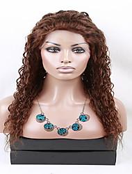 eva perruques vierge de dentelle de cheveux avant perruque densité lourde perruques de vague humains bresilien pour les femmes noires