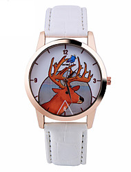 Deer Watch Women Watches Leather Unique Jewelry Accessories Handmade Gift Idea Spring Unique Custom Ladies Trendy