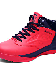 Men's Shoes PU Athletic / Casual Sneakers / Clogs & Mules Athletic / Casual Indoor Court Flat Heel Others / Lac