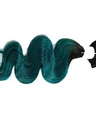 8a ombre pelo onda brasileña virginal del cuerpo del pelo del pelo humano de Remy