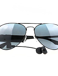 Sunglasses Bluetooth Stereo Headphones Listening To Music And Receive Calls