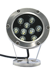1pcs  LED  High Power LED outdoors 9W RGB Underwater light AC/DC12V