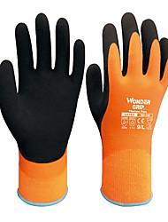 Pergunto Grip® 320 WG revestimento de látex antiderrapante inverno quente luvas de manipulação outdoor passeio