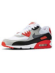Sapatos Corrida Masculino Vermelho / Branco / Preto e Vermelho / Preto e Branco Couro / Tule