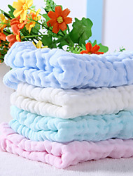 "Solid Full Cotton Baby Towel 11"" by 11"""
