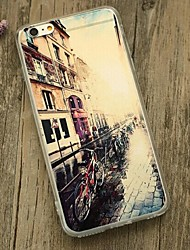 Back Shockproof City View TPU Soft Shockproof Case Cover For Apple iPhone 6s Plus/6 Plus / iPhone 6s/6 527911683028
