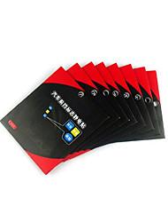 автомобиля статические стикеры логотип переднего ветрового стекла инспекции наклейки три загруженных автомобильных поставок