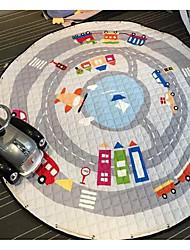 Living Room Accommodating Cartoon Car Mats For Children Crawling Mat Slip Light Flexibility Durability