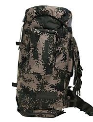 25 L sac à dos Camping & Randonnée Sport de détente Multifonctionnel Olive Nylon