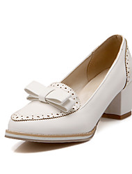 Women's Shoes Spring / Summer / Fall / Winter Comfort / Pointed Toe Heels Wedding / Outdoor / Dress / Casual Chunky Heel
