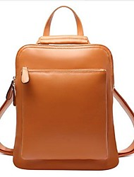 Women PU Casual / Outdoor Backpack Blue / Yellow / Brown / Red / Black