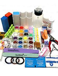 39 Sets Nail Kit Nail Art Decoration Accessories Nail DIY Nail Polish Kit