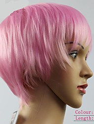 Rihanna Same Style Fashion Synthetic Wigs Pink Hair Woman Wigs