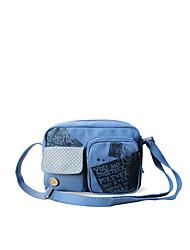 Fleur Princess® Femme Toile Sac à Bandoulière Bleu-A2014XK