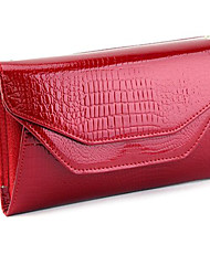 Women Cowhide Event/Party Clutch / Evening Bag Blue / Red / Black