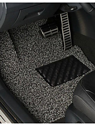 Black Silk Spray Mat Mat Can Be Cut Free Car Carpet Of Three Sets Of Three Sets Of Spinneret