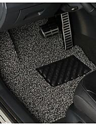 черный шелк спрей коврик можно отрезать свободный автомобиль ковер из трех наборов из трех наборов фильеры