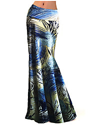 Beach Dress 2016 Summer Women's Fashion Charming Flower Color Multicolor Printing Package Hip Long Skirts
