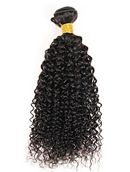 "1 Pc/Lot 8""-26"" Indian Remy Kinky Curly Hair Weft Extensions Can Be Dyed And No Tangle"