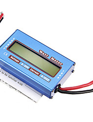 RC Boat Heli Watt Meter Digital LCD Display DC 60V 100A Battery Power Analyzer New Arrival