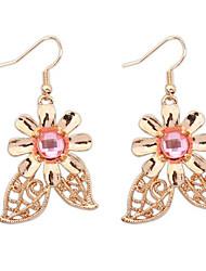The New Hollow Flower Earrings Elegant Value