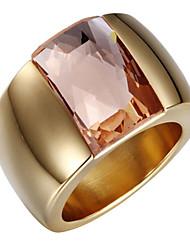 Bandringe Zirkon Kubikzirkonia 18K Gold Übergang Modisch Einstellbar bezaubernd Silber Golden Schmuck Hochzeit Party Alltag Normal 1 Stück