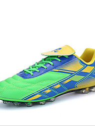 Men's Athletic Shoes Spring / Summer / Fall / Winter Motorcycle Boots PU Others Blue / Red / Light Green Soccer