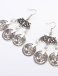 Queen Luxury Earrings Vintage Punk Nightclub Fan Accessories