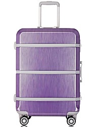 Unisex-Outdoor-Metal-Luggage-White / Purple / Gold / Silver / Black / Fuchsia