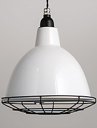 White Metal Ceiling Light, Living room Bedroom Dining Room  Kitchen Bar Cafe Hallway Balcony Pendant Lamp