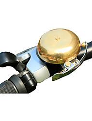 Fahhrad Bike Bell Freizeit-Radfahren / Faltrad / Rennrad Wasserdicht / Langlebig Gold acero / rostfrei / cobre 1-OEM