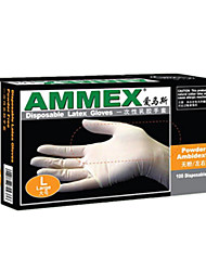 Disposable Latex Gloves Latex Powder-Free Medical Laboratory Thickened Food Processing Gloves Tlfc