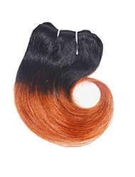 "Ombre Hair Extension Body Wave Human Hair 8"" 4pieces/lot Ombre Color  Hair Extension"