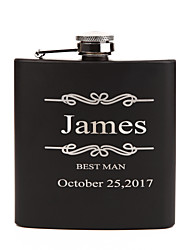 Bride / Groom / Bridesmaid / Groomsman / Couple / Parents Gifts Piece/Set Hip Flasks Classic / Modern / LoversWedding / Birthday /