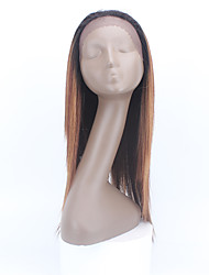Hot! X-TRESS Long Straight Synthetic Lace Front Wigs Heat Resistant OP27 Two Tone Lace Front Wig Ombre Wig