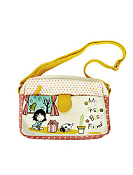 Flower Princess® Women Canvas Shoulder Bag Yellow-A201110535